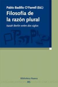 FILOSOFíA DE LA RAZóN PLURAL: portada