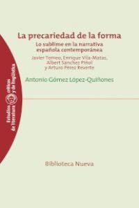 LA PRECARIEDAD DE LA FORMA: portada