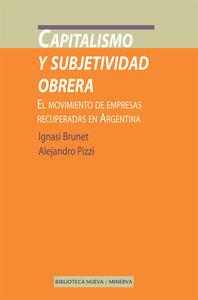 CAPITALISMO Y SUBJETIVIDAD OBRERA: portada