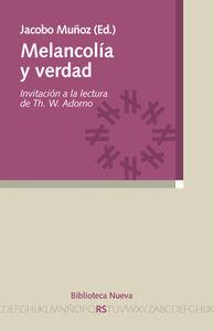 MELANCOL�A Y VERDAD: portada
