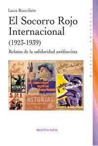 EL SOCORRO ROJO INTERNACIONAL EN ESPAñA (1923-1939): portada