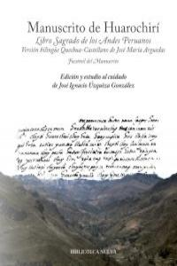 MANUSCRITO DE HUAROCHIRí: portada