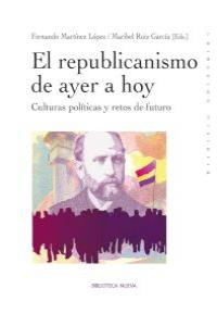 EL REPUBLICANISMO DE AYER A HOY: portada