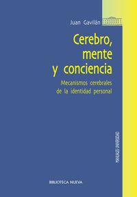 CEREBRO, MENTE Y CONCIENCIA: portada