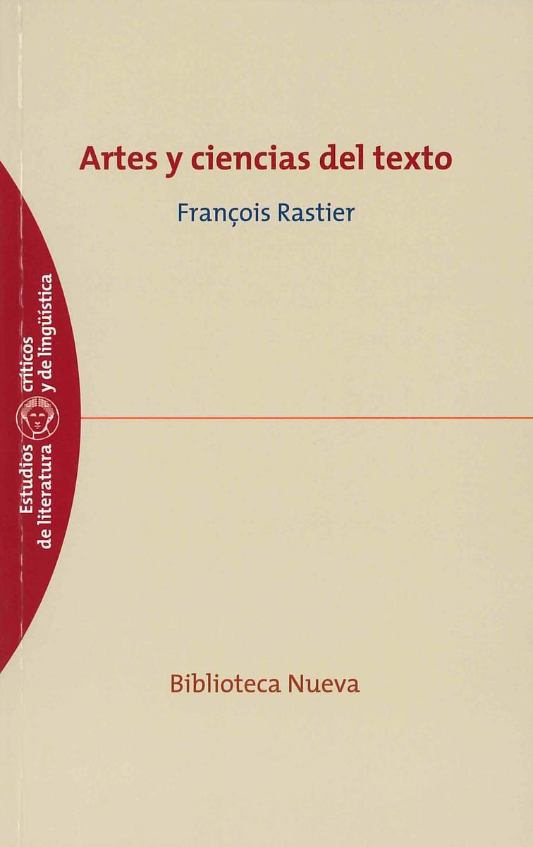 ARTES Y CIENCIAS DEL TEXTO: portada