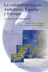 LA CALIDAD SOCIAL EN ANDALUCíA, ESPAñA Y EUROPA: portada