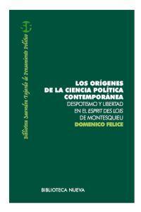 LOS ORíGENES DE LA CIENCIA POLíTICA CONTEMPORáNEA: portada