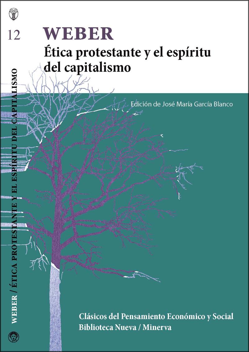 ÉTICA PROTESTANTE Y EL ESPÍRITU DEL CAPITALISMO: portada