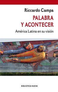 PALABRA Y ACONTECER: portada
