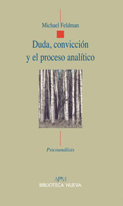 DUDA, CONVICCIóN Y EL PROCESO ANALíTICO: portada
