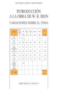 INTRODUCCION A LA OBRA DE W. R. BION: portada