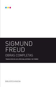 SIGMUND FREUD - OBRAS COMPLETAS: portada