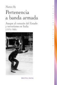 PERTENENCIA A BANDA ARMADA: portada
