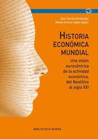 HISTORIA ECONóMICA MUNDIAL: portada