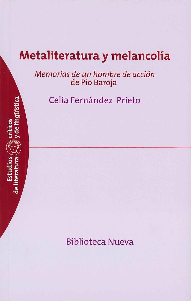 METALITERATURA Y MELANCOLÍA: portada