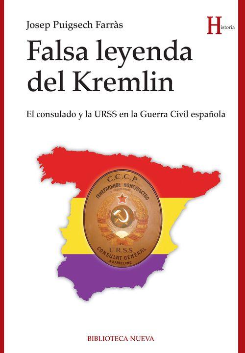 FALSA LEYENDA DEL KREMLIN: portada