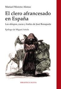 EL CLERO AFRANCESADO EN ESPAÑA: portada