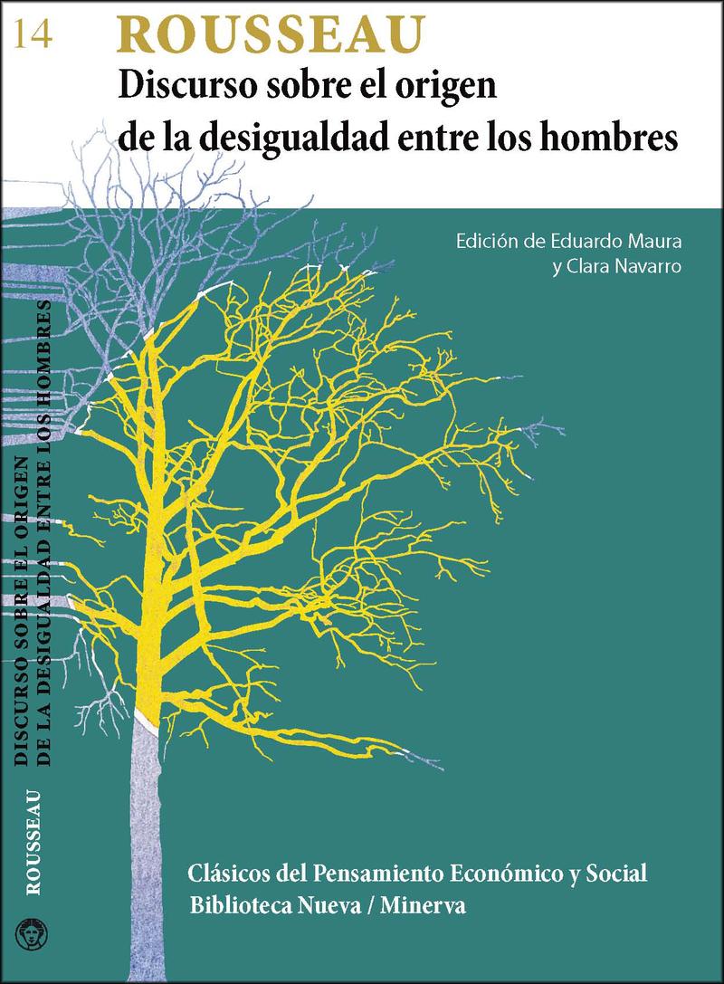 DISCURSO SOBRE EL ORIGEN DE LA DESIGUALDAD ENTRE LOS HOMBRES: portada