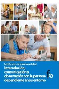 INTERRELACIÓN, COMUNICACIÓN Y OBSERVACIÓN CON LA PERSONA DEP: portada