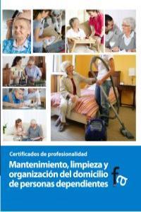 MANTENIMIENTO, LIMPIEZA Y ORGANIZACIÓN DEL DOMICILIO DE PERS: portada