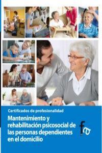 MANTENIMIENTO Y REHABILITACIÓN PSICOSOCIAL DE LAS PERSONAS D: portada