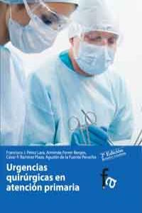 URGENCIAS QUIRÚRGICAS EN ATENCIÓN PRIMARIA.2ª edición: portada