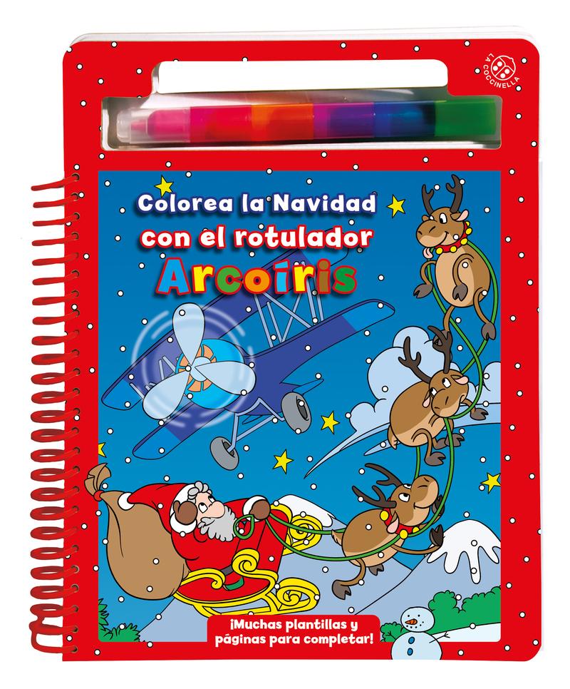 Colorea la navidad: portada