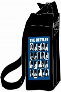 BANDOLERA THE BEATLES AZUL-NEGRA: portada