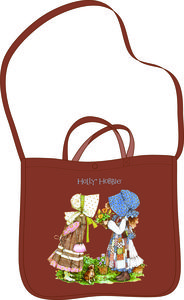 BOLSA BANDOLERA MARRON HOLLY HOBBIE: portada