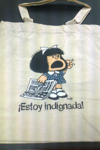 BOLSA MAFALDA ESTOY INDIGNADA 2ªED: portada