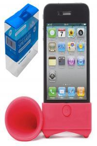 ALTAVOZ IPHONE 4S SPEAKER ROJO: portada