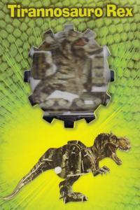 TIRANNOSAURO REX PUZZLE 3D: portada