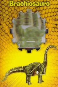 BRACHIOSAURO PUZZLE 3D: portada