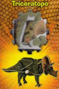 TRICERATOPO PUZZLE 3D: portada