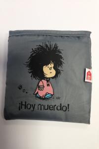 BOLSA PLEGABLE MAFALDA HOY MUERDO: portada
