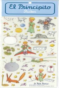 PACK STICKERS EL PRINCIPITO 2 - 6 COPIAS: portada