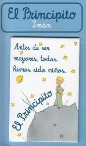 PACK 6 IMANES EL PRINCIPITO ANTES DE SER MAYORES: portada
