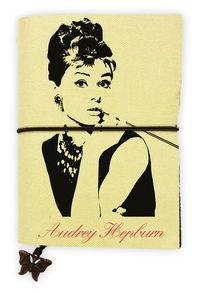 LIBRETA AUDREY HEPBURN: portada