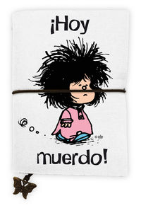 LIBRETA MAFALDA HOY MUERDO: portada