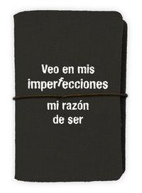 TARJETERO VEO EN MIS IMPERFECCIONES MI RAZON DE SER: portada