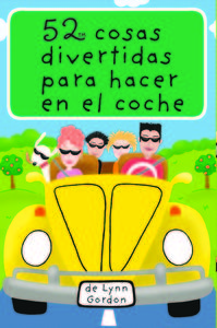 BARAJA 52 COSAS DIVERTIDAS PARA HACER EN EL COCHE 3�ED: portada