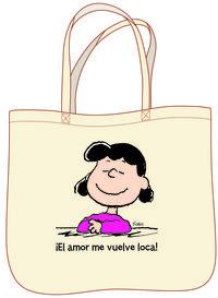 BOLSA LUCY EL AMOR ME VUELVE LOCA: portada