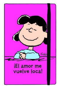 CUADERNO LUCY EL AMOR ME VUELVE LOCA: portada