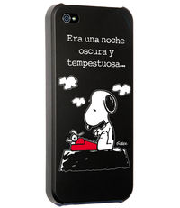 CARCASA IPHONE 5 - 5S SNOOPY ERA UNA NOCHE OSCURA: portada