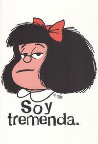 CUADERNO MAFALDA SOY TREMENDA - GRANDE: portada