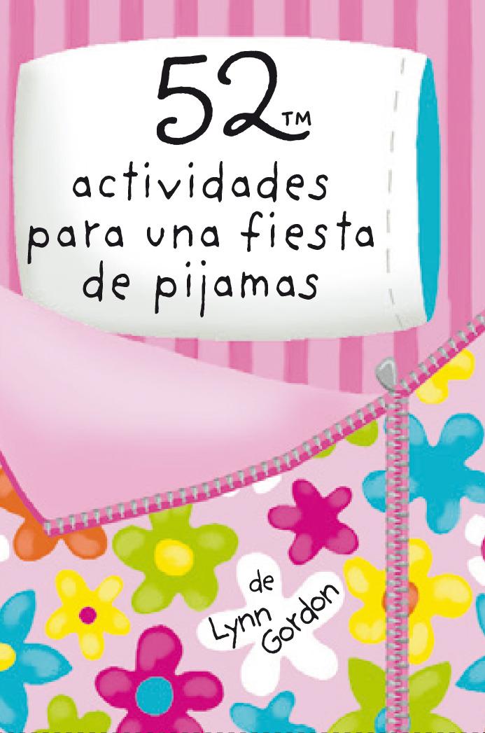 Baraja 52 actividades para una fiesta de pijamas: portada