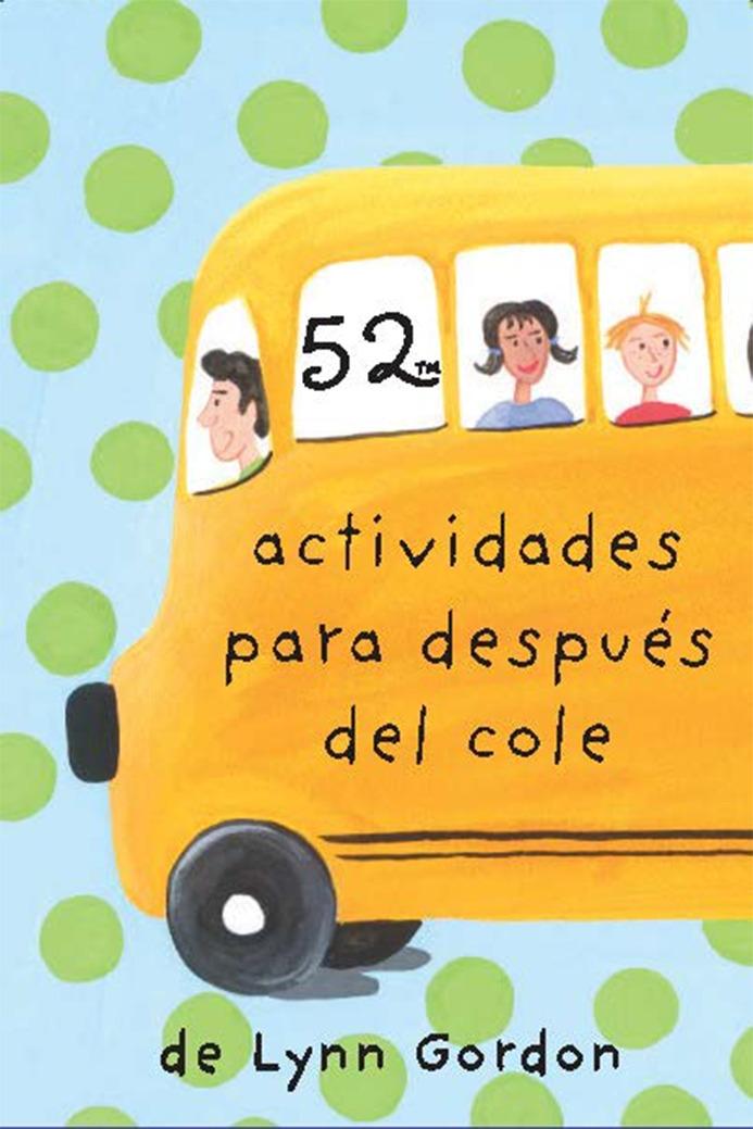 52 actividades para después del cole: portada