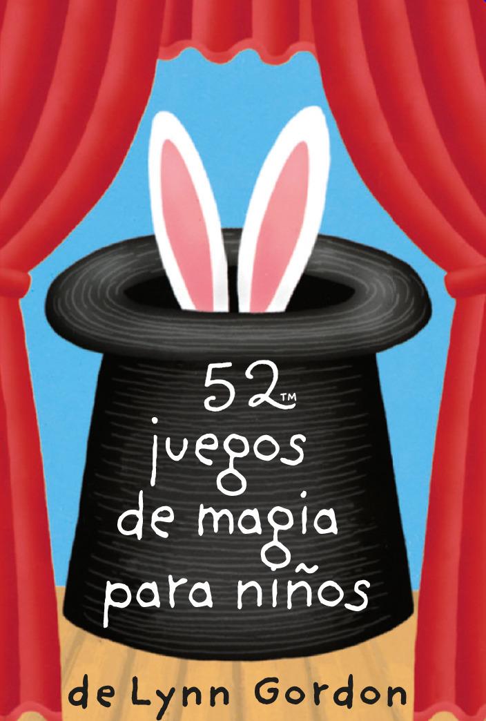 52 juegos de magia para niños: portada