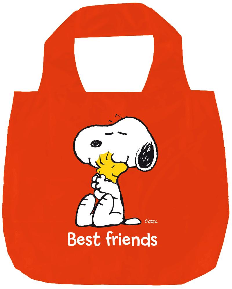 BOLSA PLEGABLE SNOOPY BEST FRIENDS: portada