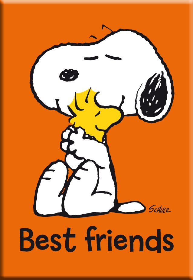 IMÁN SNOOPY BEST FRIENDS - PACK 6: portada